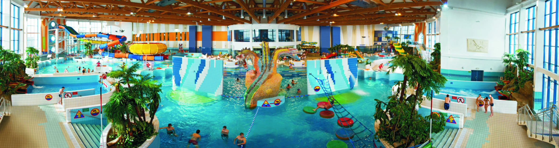 If you like swimming, Krakow water park is perfect place for you. Don't be misleaded, it's fun for both younger and older.